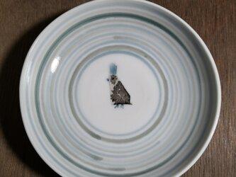 4寸皿(鳥)の画像