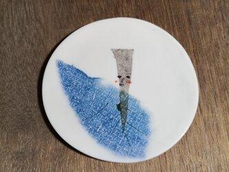 銘々皿(照れゴボウ)の画像