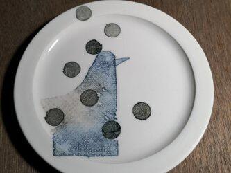 5寸皿(鳥)の画像