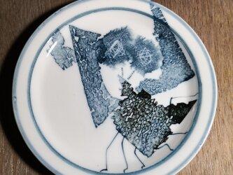 5寸皿(ザリガニ)の画像