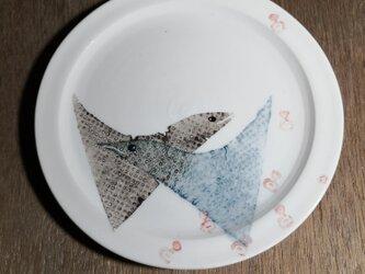 5寸皿(2匹)の画像