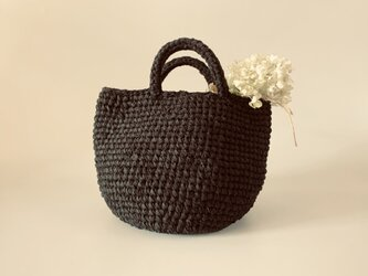 裂き編みバッグ マルシェsmallサイズの画像