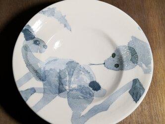 パスタ皿(生き物とヘビ)の画像