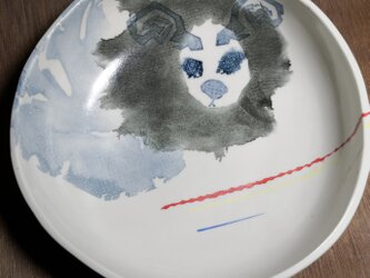 丸皿(ライオン神)の画像