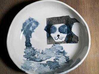 丸皿(ライオン)の画像