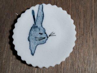 豆皿5~5.5cm(うさぎ)の画像