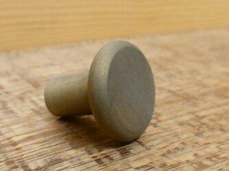 真鍮製 たいらな つまみ 取っ手 A  /  シャビー 、レトロ、アンティーク、ビンテージ、DIYの画像