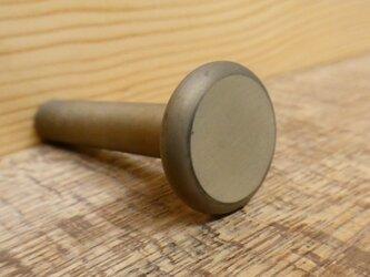 真鍮製 たいらな フック A  /  シャビー 、レトロ、アンティーク、ビンテージ。DIY。の画像
