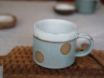 コンパルの水玉マグカップ No.1027の画像