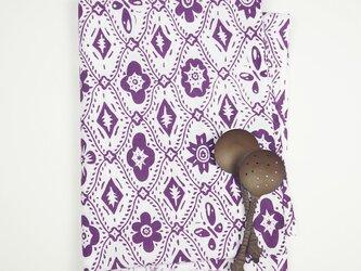 手ぬぐい【 SANPO 】小紫の画像