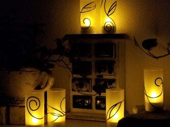 充電式LEDキャンドル12個セット 『ティンカーベルのX'mas』の画像