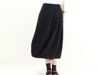 バルーンスカート(ネイビープリント)#270の画像