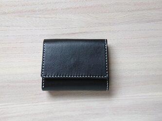 みつおり屋さん 三つ折り財布 #1 黒の画像