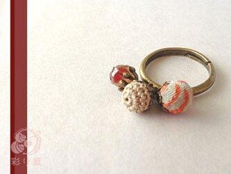 リング[私の宝石]秋色ティーの画像