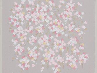 風呂敷 宇野千代 68cm幅 あや桜の画像