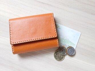 みつおり屋さん 三つ折り財布 #1 キャメルの画像