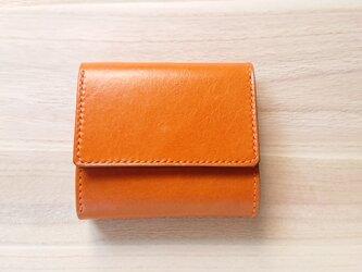 みつおり屋さん 三つ折り財布 #2 キャメルの画像