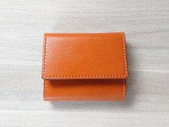 みつおり屋さん 三つ折り財布 #3 キャメルの画像