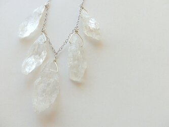 *SV925 icicle crystal necklaceの画像