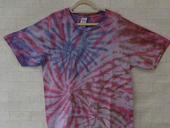 タイダイ染め 花火模様のすてきTシャツ♥の画像