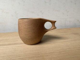 カシの木のマグカップ  #1の画像
