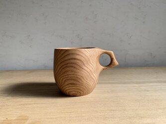 タモの木のマグカップ  #1の画像