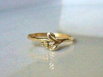 「受注製作 マートルのK14の指輪」の画像