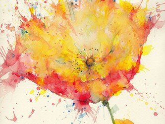 Flower 25 (額縁付き)の画像