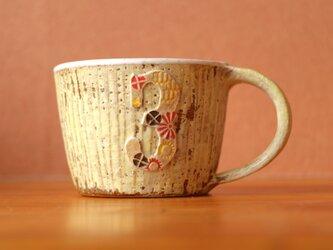 彩泥マグカップの画像
