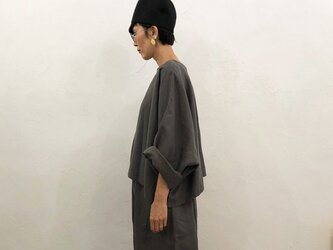 Pablo Shirt - Short   Grayish Brownの画像