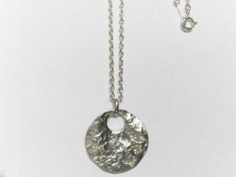 水面の月water surfaceペンダント silver925 1点物 の画像