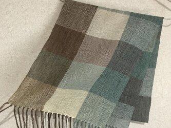 手織りストール A27の画像