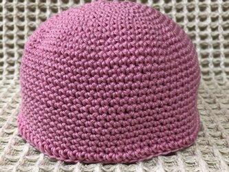 ☘️まんまる帽子*(ピンク)*ベビー・キッズ・大人の画像