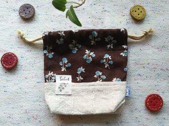 季節のミニ巾着袋  2019年初秋の画像