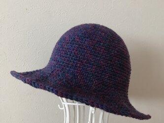 Sold out ! 再販!ダークブルーのお帽子の画像
