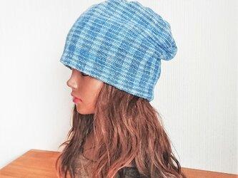 CAP:Thai cotton - Light blueの画像