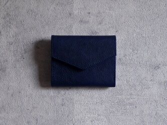 """コンパクト財布 """"PIERROT"""" ネイビーの画像"""