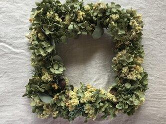 しかく wreathの画像