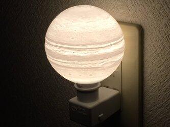 木星のコンセントライトの画像