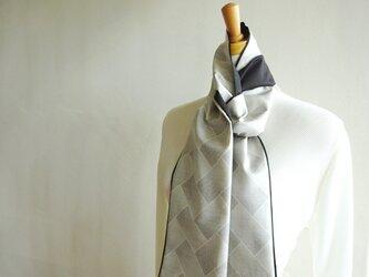 クールな秋の大島スカーフ(弐)の画像
