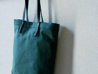 帆布トートバッグ : A4の画像