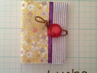 カードケース*リバティ生地小花柄の画像