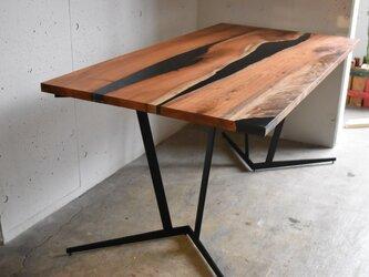リバーテーブル天板のみ rivertable(ダイニングテーブルサイズ)完全オーダー品です。の画像