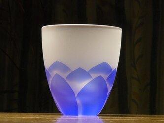 蓮の花タンブラー  青 B(1個)の画像
