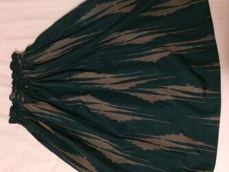 銘仙のギャザースカートの画像