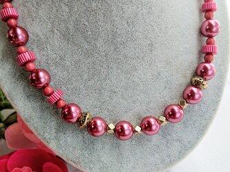 花霞み     (ピンクパールのネックレス)の画像