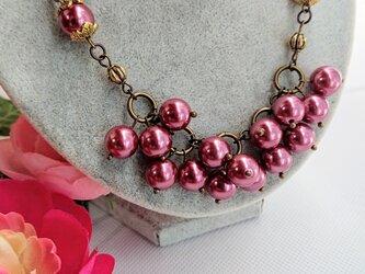 フランボワーズ     (ピンクパールのネックレス)の画像
