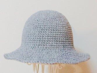 ニットのお帽子の画像