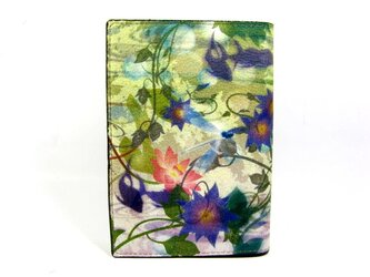 睡蓮花 ブックカバーの画像