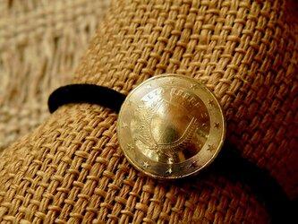 #H109  Republic of Malta Coin Hair Elasticの画像